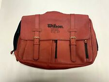 Wilson NFL Mens Pigskin Laptop Computer Messenger Bag Briefcase Travel Case