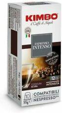 200 CAPSULE CAFFÈ KIMBO intenso   COMPATIBILI NESPRESSO  Espresso