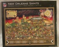 NFL New Orleans Saints Can You Find Joe Jigsaw Search Puzzle 500 Pieces NEW