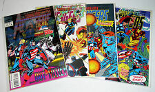 Avengers - The Terminatrix Objective #1 #2 #3 And #4 Full Set 1993