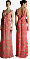 French Connection Phoenix Printed Silk Maxi Dress 0/2 NWT $228