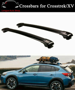 2PCS Cross Bars Fits for Subaru Crosstrek XV 2017-2022 Roof Rail Racks Crossbars