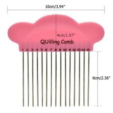 DIY Cloud Paper Quilling Comb Plastic Holder Origami Carding Art Craft ToolBLBD
