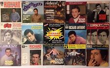 LOT DISQUES 45T SPECIAL RICHARD ANTHONY