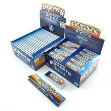 Elements King Size Papers & Perforated Tips Filter Paper Booklets