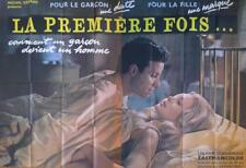 SOYA'S 17 - XRATED / EROTIC / FIRST TIME - RARE LARGE FRENCH MOVIE POSTER