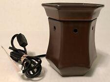 Corten Sentsy Rustic Bronze Retired Premium Full Size Wax Warmer Model: DSW-CORT