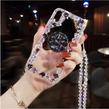 Bling Diamond Up Holder Case for iPhone 8 X/XS XR MAX Samsung S8 S10 Plus S10E