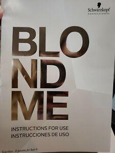Schwarzkopf Professional BLONDE ME toner & hair color Book