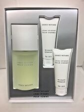 L'eau D'issey Issey Miyake Men Cologne EDT SP 4.2 oz & Shower Gel NIB 3 Pcs SET