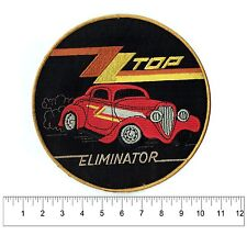 "Zz Top Eliminator Back Patch Original Vintage 9"" Hot Rod for vest or jacket"