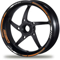 Laminated Set 1290 Super Duke R Motorcycle Wheel Decals for 12 Rim Stickers /412