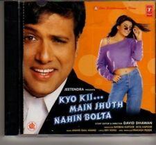 (AT99) Kyo Kii... Main Jhuth Nahin Bolta - 2001 CD