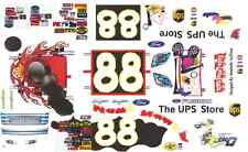 #88 Dale Jarrett Toys for Tots Ford 2006 1/64th HO Scale Slot Car Decals