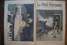 PETIT PARISIEN 1900 N 587  DRAME A LA PRISON MILITAIRE