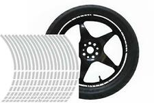 NEW wheel rim tape striping stripes stickers SILVER..(36 pieces/8 per wheel)