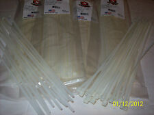 "500 PIECE 14"" NATURAL ZIP TIES / WIRE / CABLE TIES NIEKO TOOLS USA FASTENERS"