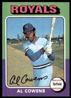 1975 Topps Al Cowens Kansas City Royals #437