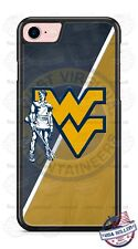 West Virginia WVU Mountaineers Blue & Gold Phone Case for iPhone Samsung LG etc