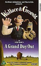 Wallace & Gromit In Nick Park's A Grand Day Out - VHS Video UK 1993