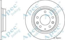 1x OE Quality Replacement Rear Axle Apec Solid Brake Disc 5 Stud 280mm - Single