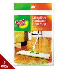 Scotch-Brite Hardwood Floor Mop Refill Microfiber [3 PACK]