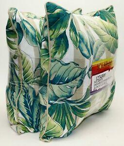 """💯Solarium 2Pc Pillow Indoor Outdoor Decorative 20x 20"""" UV Fade Weather Resistnt"""