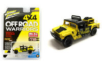Johnny Lightning 1/64 Off-Road Hummer H1 Race Truck (Yellow/Black) JLCP7157