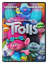 DVD - Trolls (2016) NEW*Adventure, Family, Animation* FAST SHIPPING !