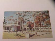Vintage Postcard Coral 00004000  Sands Hotel Court Chrome Myrtle Beach Sc 1956