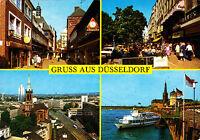 Gruss aus Düsseldorf ; Ansichtskarte , gelaufen