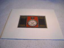 WERBEBLATT NEU unbenutzt Uhren Motiv von 1910