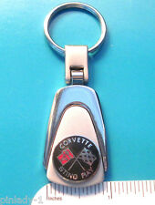 CORVETTE Stingray -   keychain  key chain - teardrop shape  ORIGINAL BOX