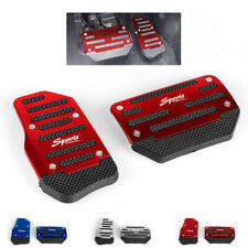 Red Non Slip Automatic Gas Brake Foot Pedal Pad Cover Car Accessories Parts Fits Isuzu