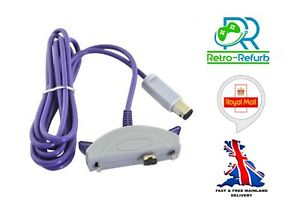 Nintendo Gameboy Advance to Gamecube Link Cable GBA - GC Lead -UK FAST FREE POST