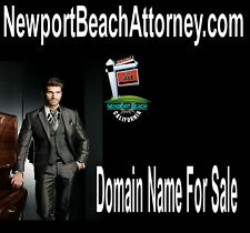 Newport Beach Attorney.com  Domain Name For Sale URL Put Your Website Here Biz