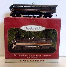 Hallmark Keepsake Lionel Train 746 NORFLOK & WESTERN  Loco Ornament NIB 1999