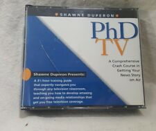 PhD TV Getting Your News Story On The Air Training Guide 5 CD Set Shawn Duperon