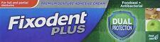 Fixodent Plus Dual Protection Antibacterial Foodseal Denture Adhesive Cream 40g