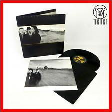 U2 The Joshua Tree UK 1987 Vinyl LP Lyric Poster Island U26 Gatefold