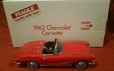 DANBURY MINT 1962 CHEVROLET CORVETTE 1:24 die cast w/ Box RARE