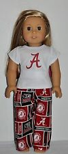 American Made Doll Clothes For American Girl Doll - Alabama - Pjs