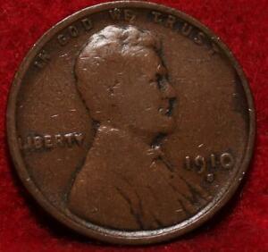 1910-S San Francisco Mint Copper Lincoln Wheat Cent
