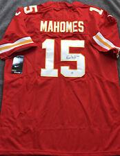 Patrick Mahomes Signed Auto Kansas City Chiefs Red Nike Jersey with COA