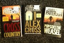 Lot 3 Pb Books James Patterson Cross Country, I Alex Cross, Pop Goes the Weasel