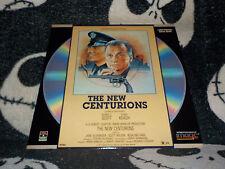 The New Centurions Laserdisc LD George C Scott Stacy Keach Free Ship $30 Orders