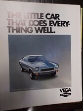1972 Chevrolet Vega Chevy GM General Motors Coupe Sedan Wagon Truck Panel 72