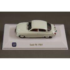 1:43 scale die-cast model Saab 96 2-stroke 1964 - white