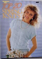 Woman's Day Top 20 Spring Knits knitting pattern book