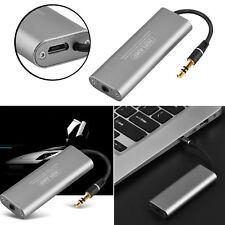 Portable 3.5mm Car Audio Hifi Headphone Amplifier Stereo Earphone Amp for iphone